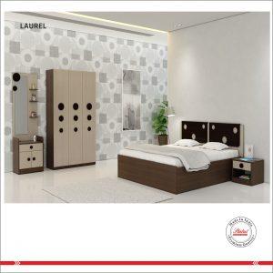 Laurel Queen Size Bed Status Furniture