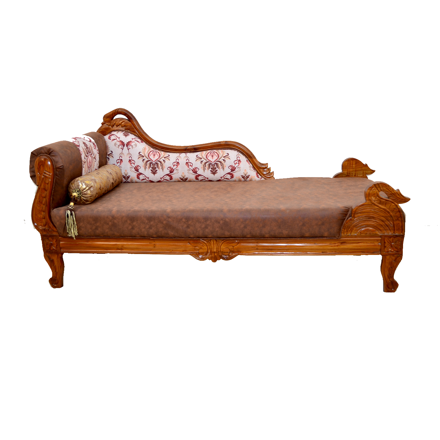 HERITAGE Teak Carved Couch